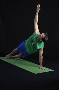 Strengthens the arms, stomach and legs. Stretches and strengthens the wrists