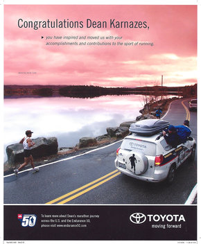 Dean Karnazes for Toyota