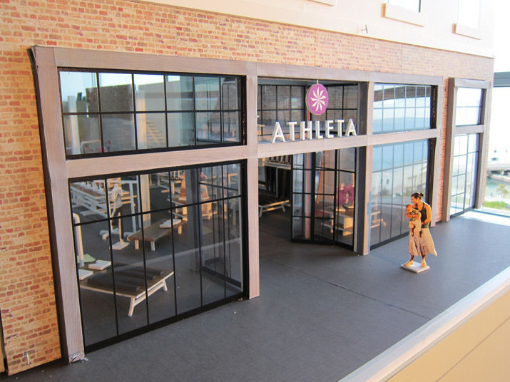 Model of Athleta Fillmore Street San Francisco, CA