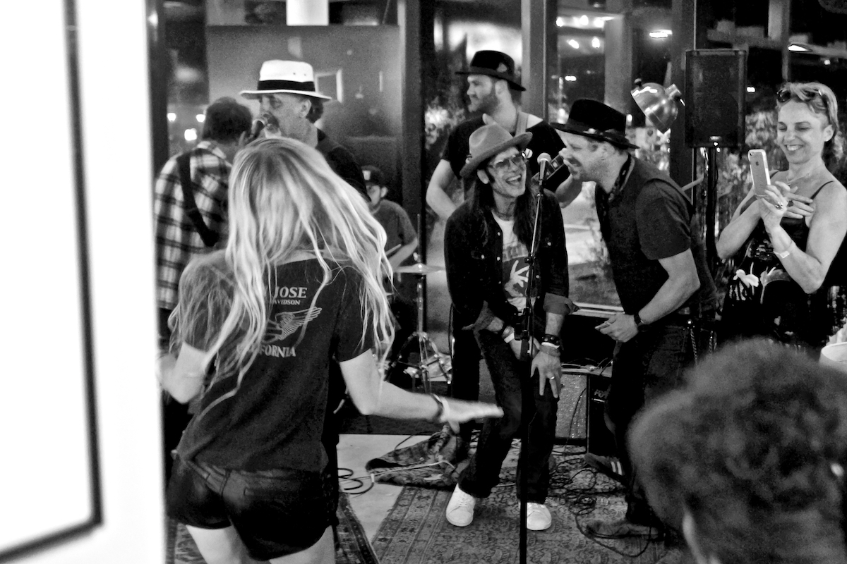Danny Clinch Rachel Ana Dobken Jackson Pines  and Special Guest London Souls Joe Grushecky The Asbury Hotel Asbury Park, NJ July 8, 2017  DerekBrad.com