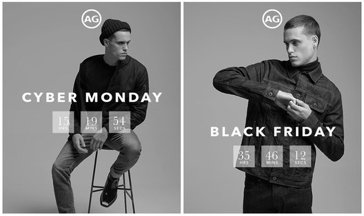 AG Jeans Holiday 2017 Collection campaign
