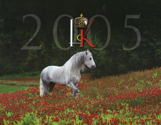 Cover for the 2005 calendar for Horse of Kings publication.
