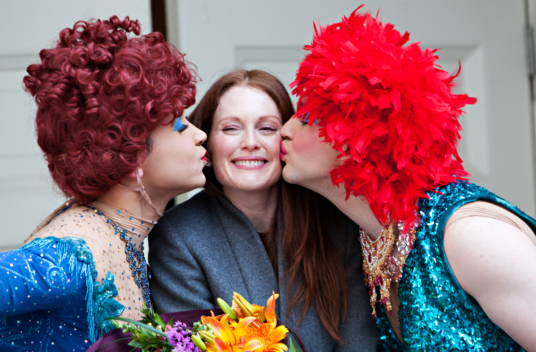 "Julianne Moore was honored as the Hasty Pudding Theatricals 2011 ""Woman of the Year""."