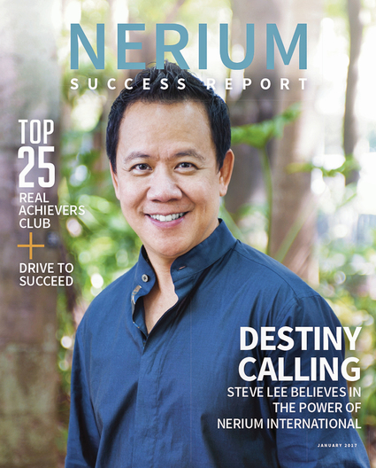 Steve Lee, Nerium International 5-Star National Marketing Director (NMD) for SUCCESS Magazine's cover story
