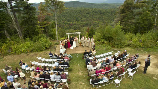 Oak Mountain Wedding Drone