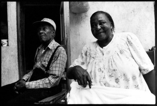 Alberta Bryant, who has lost both her legs to diabetes, lived in the impoverished region of Hale County Alabama. Alberta and Shepard Bryant, along with their grandchildren, were the first clients of the Rural Studio.