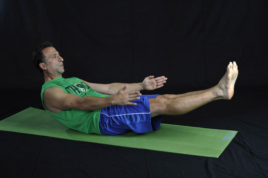 Abdominal and deep flexor strengthener