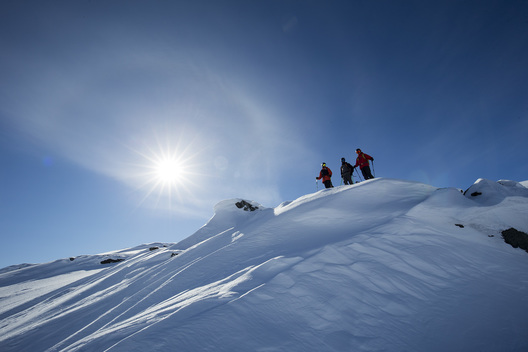 Sam Smoothy, Callum Pettit, Riley Leboe, Abisko, Sweden