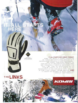Dave Bouchard for Kombi Gloves