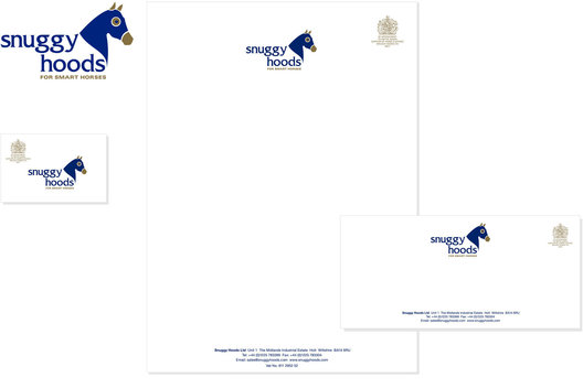 Brand Identity and corporate stationery for an equestrian company.