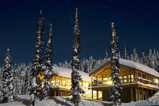 Baldface lodge, British Columbia, Canada