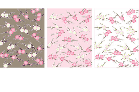 Surface patterns for a range of Spring stationery.