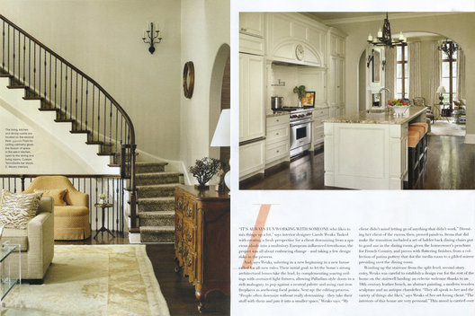 Photography by Emily Followill for Atlanta Homes & Lifestyles August 2014 Issue