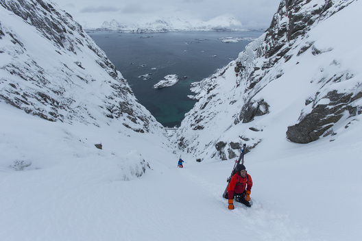 Christina Lusti, Austin Ross, Lofoten Islands, Norway