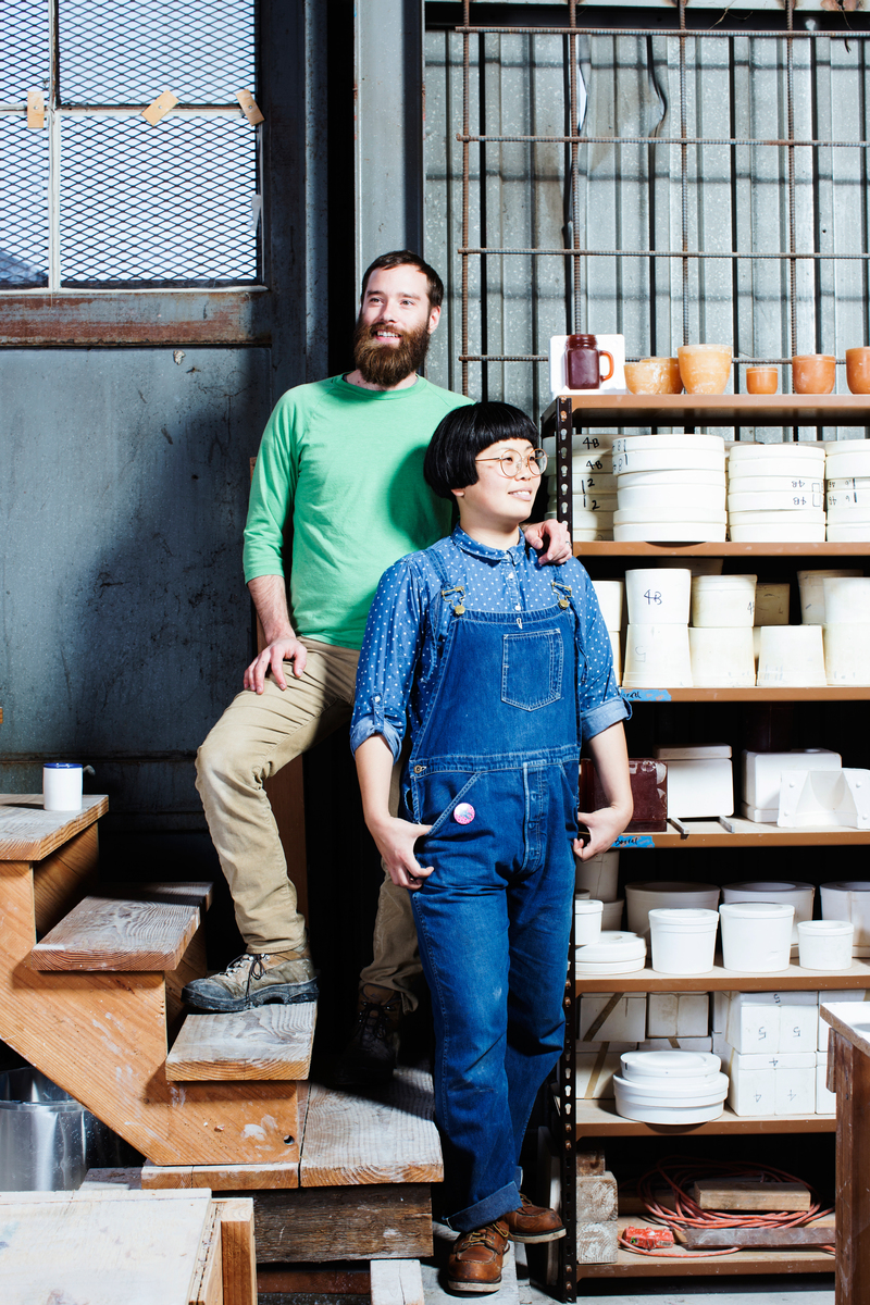 Jay and Rie Dion, Atelier Dion // San Francisco Chronicle