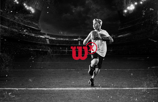 Wilson X Connected Football campaign