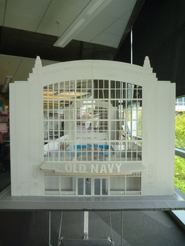 Model of 34th and Broadway Store New York City