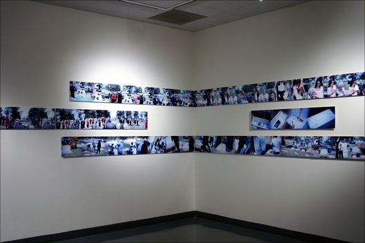 Installation of 24 prints