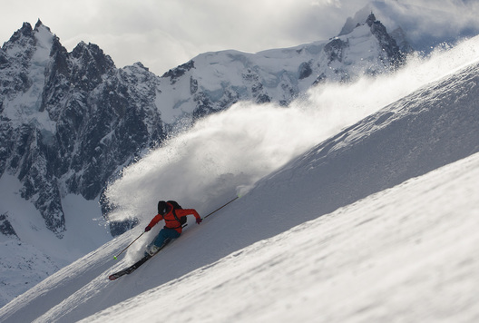 Christina Lusti, Chamonix, France
