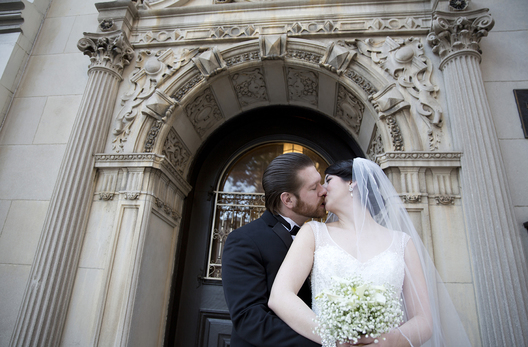 Philadelphia wedding held at the Stotesbury Mansion.