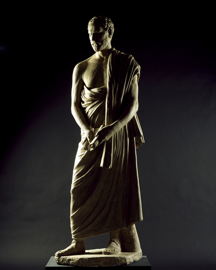 Plaster cast of Demosthenes            &nbspRoyal Academy