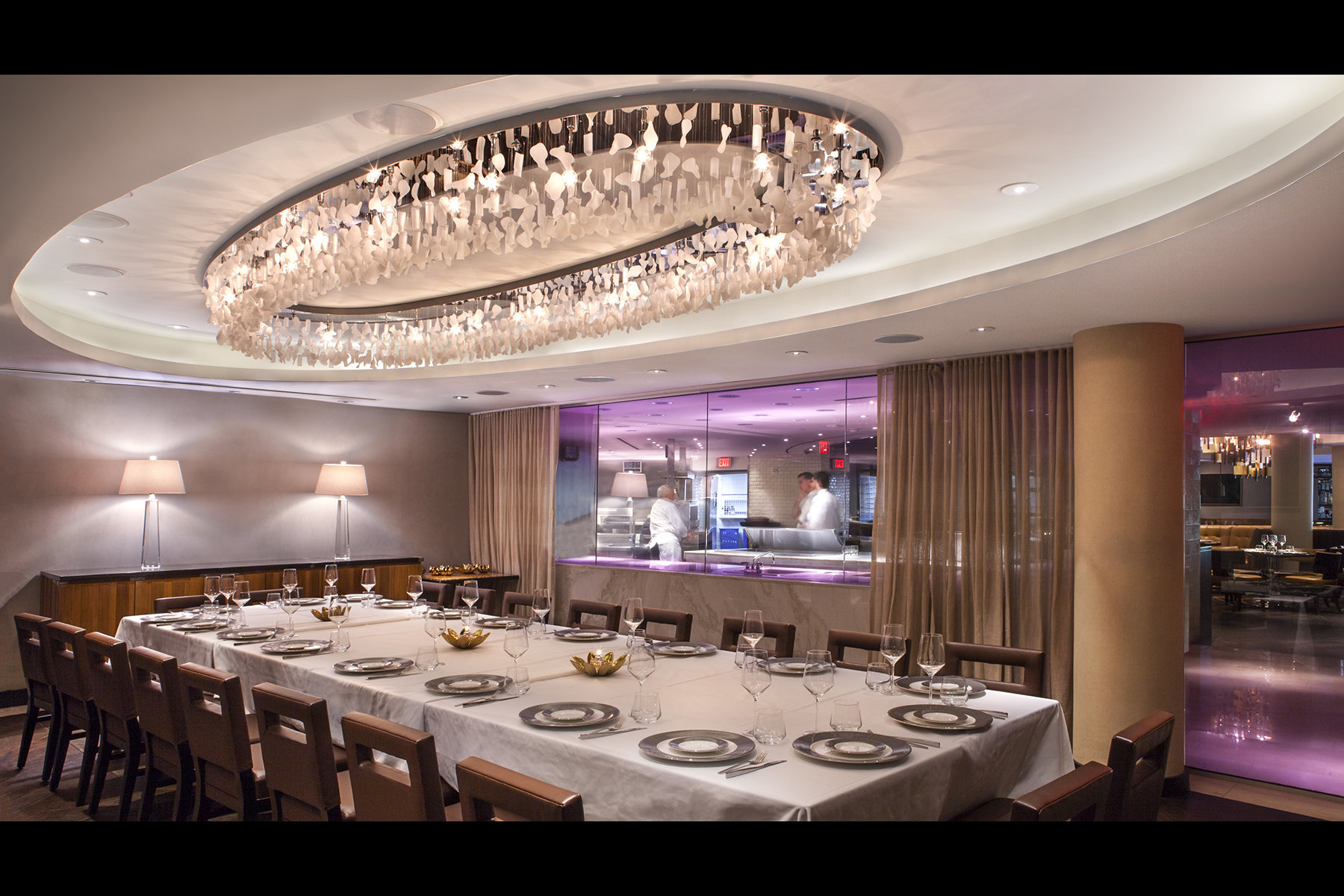 Superior Private Dining RoomStrip Steak At The Fontainebleau Miami Beach For  Dynamica Architecture, Miami Bishop Pass
