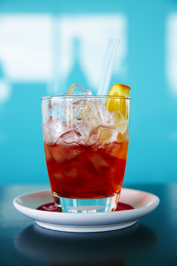 Icebergs Restaurant and Bar, Sydney - Campari +  Orange