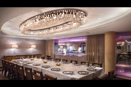 Private Dining RoomStrip Steak at The Fontainebleau Miami Beach for 