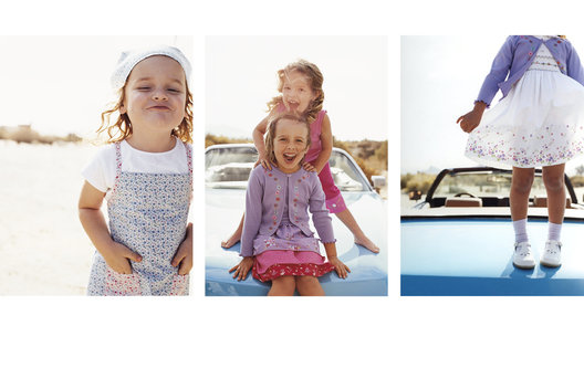 Art direction for childrenswear for windows and in store decor.