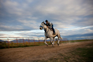 The Hadley Ranch in Ogden Utah has a long family history of race horse training in the shadow of the beautiful Wasatch Mountains.