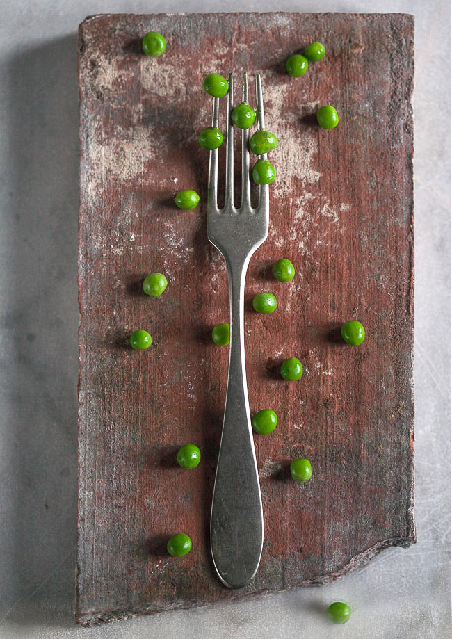 Pea and fork 2