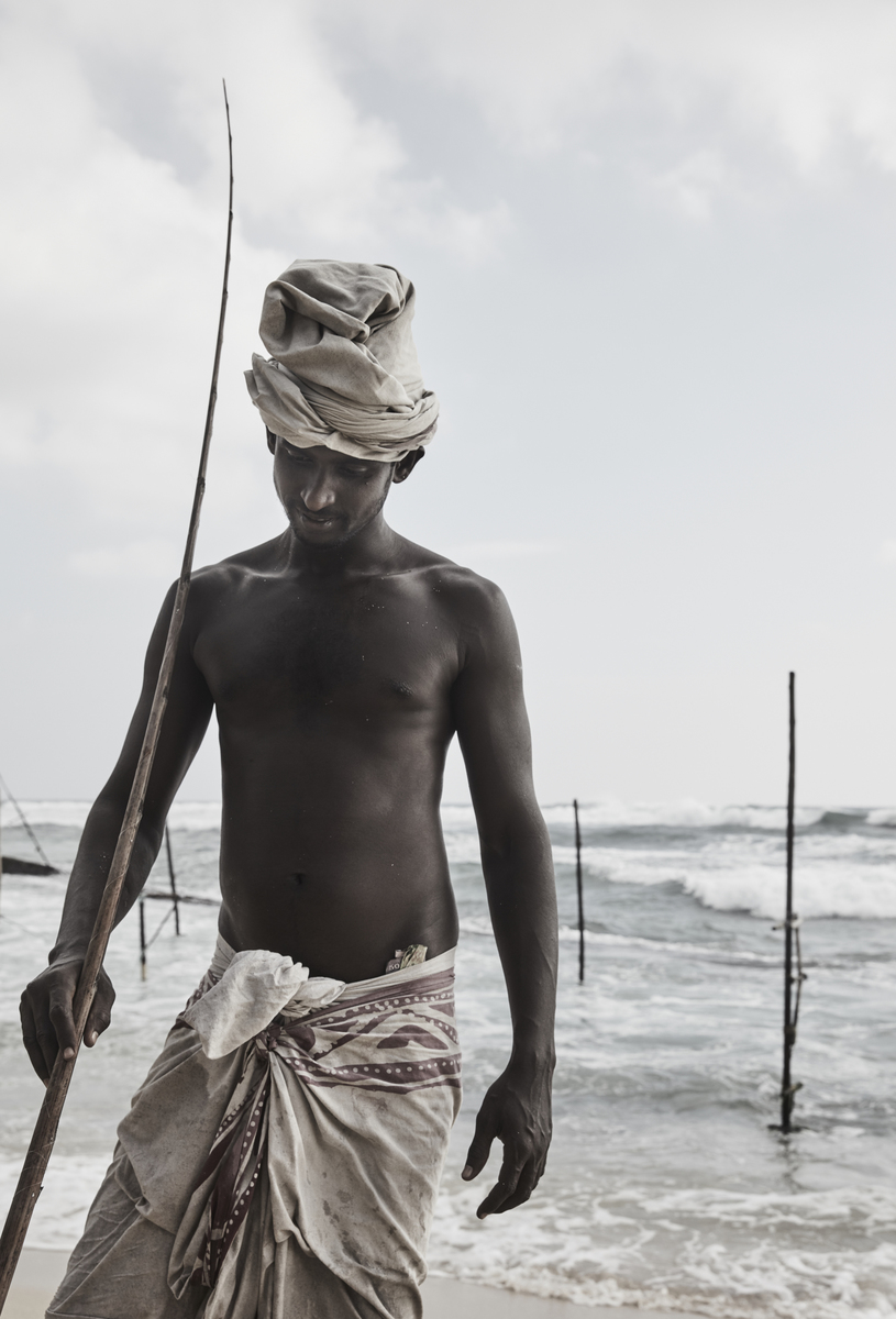 Galle Fisherman - Sri Lanka