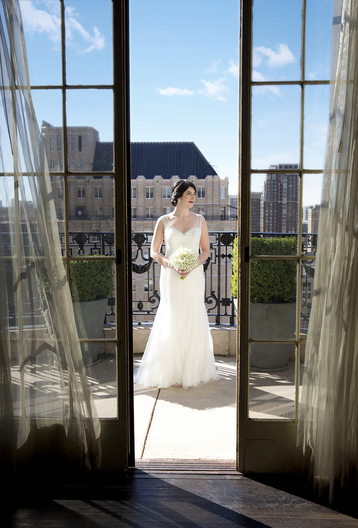 Philadelphia Wedding Bridal Portrait