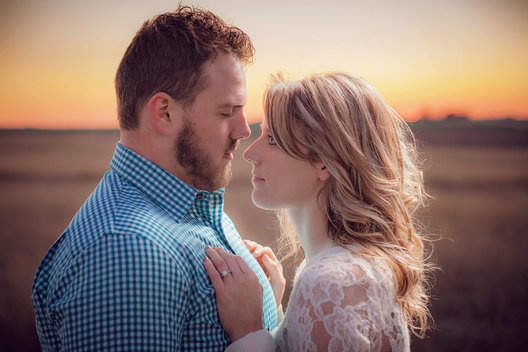 Engagement photo taken in Dallas, Texas.  Photo by Jeff Haffner Photography