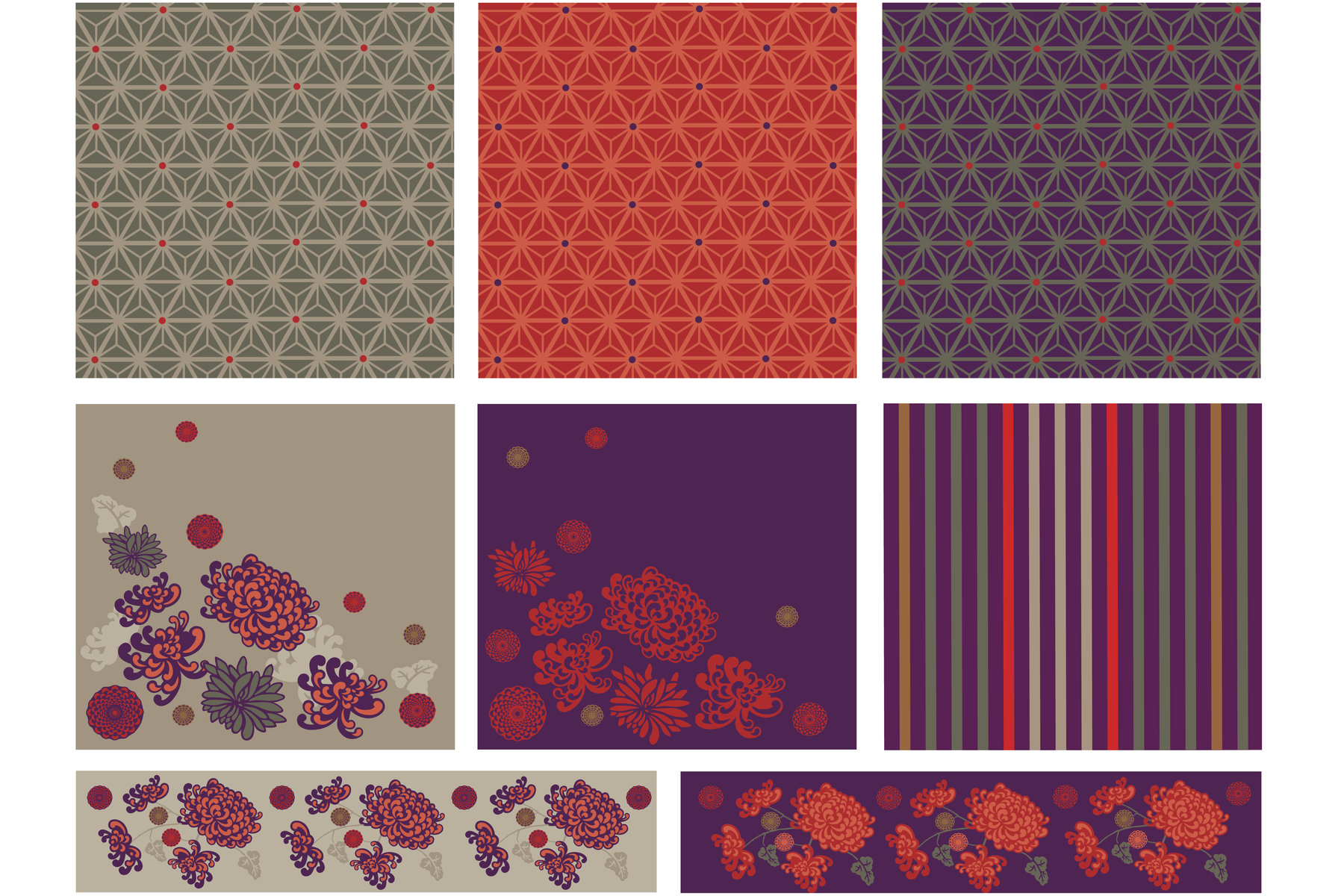 Surface design for application across a range of homeware and gifts.