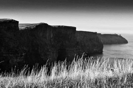 Cliffs of Moher in Ireland in the Fall of 2009