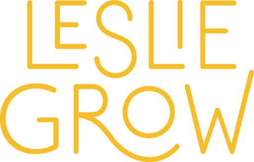 Lesliegrow logo yellow