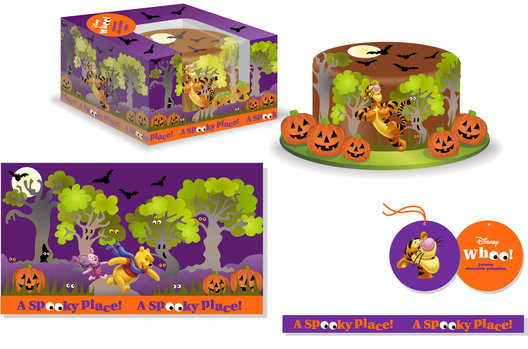 A Halloween identity for Winnie the Pooh and friends, 
