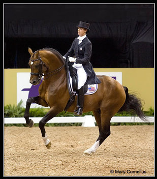 Idocus and Courtney King 2007 FEI World Cup Final