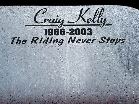 Remember Craig Kelly !