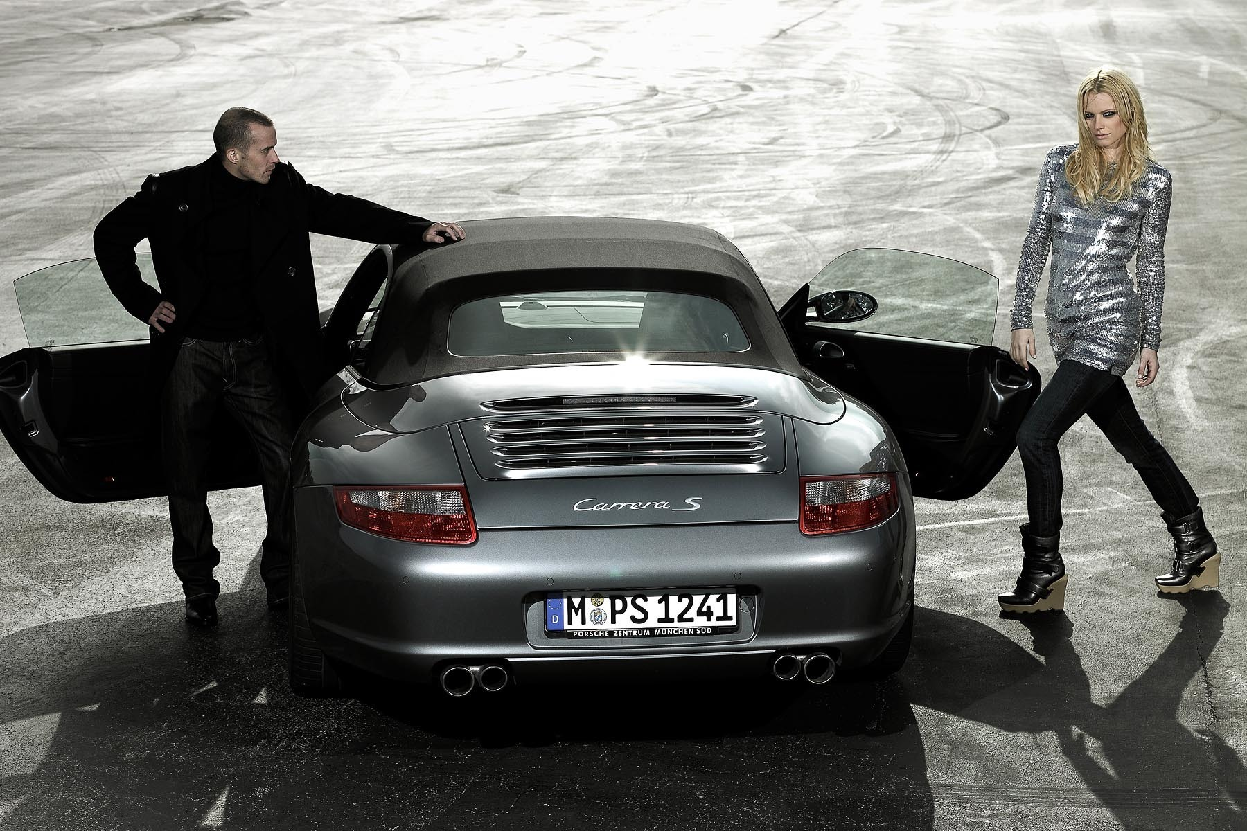 editorial shooting corporate magazine Porsche Germany, editorial Shooting Mode für Kundenmagazin von Porsche Deutschland