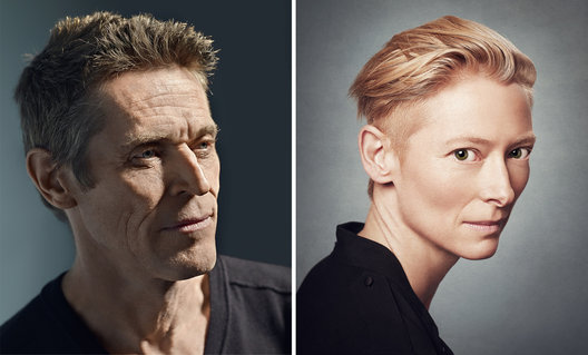Willem Dafoe and Tilda Swinton