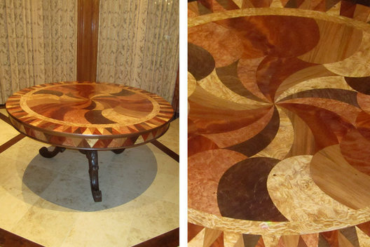Left: Table Commission
