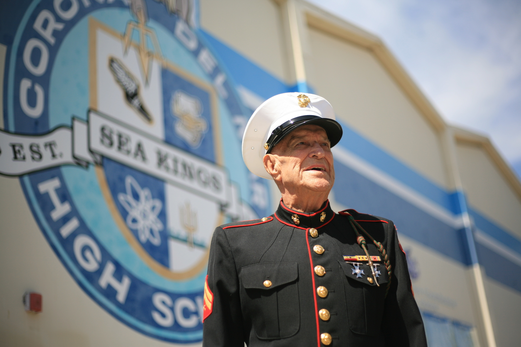 Marine Corps veteran Dick Meadows