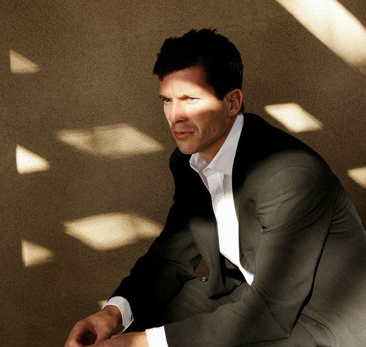British Tennis player Tim Henman photographed in Palm Springs, California for the Mail on Sunday Night & Day magazine