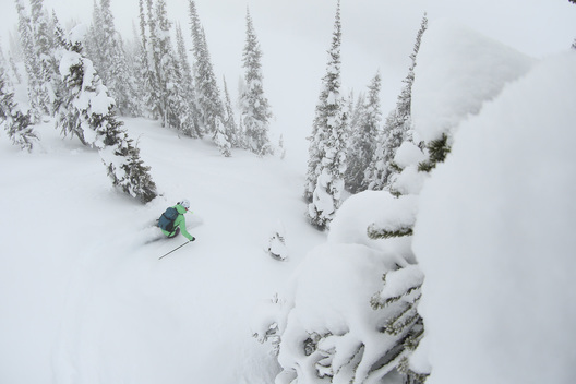 Christina Lusti, Sunsrise Lodge, Esplanade Range, BC, Canada