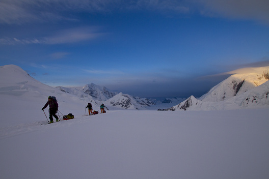 Ingrid Backstrom, Giulia Monego, Hillaree Nelson, Denali Mountain, Alaska
