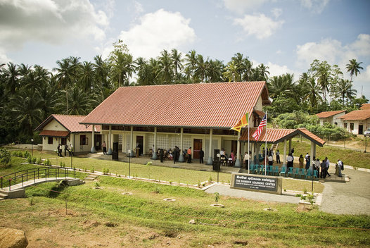 The Shimek Learning Center provides education, and education resources to people who lost their homes to the tsunami.