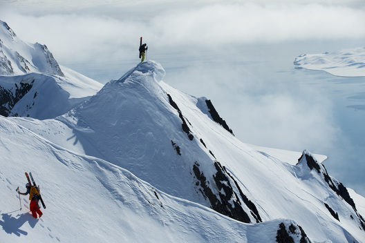 Dave Rosenbarger, Johan Jonsson, Svalbard, Norway