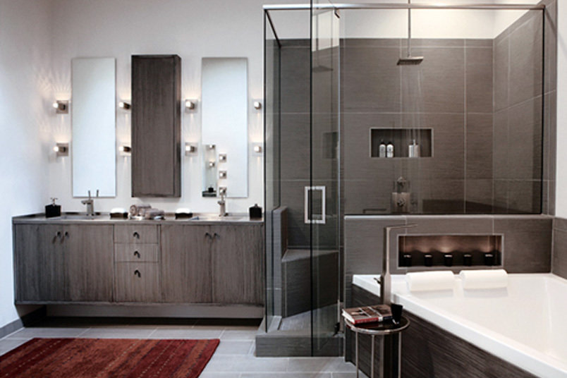 Bathroom Cabinetry Block Chisel Makers Of Fine Cabinetry And - Bathroom design atlanta